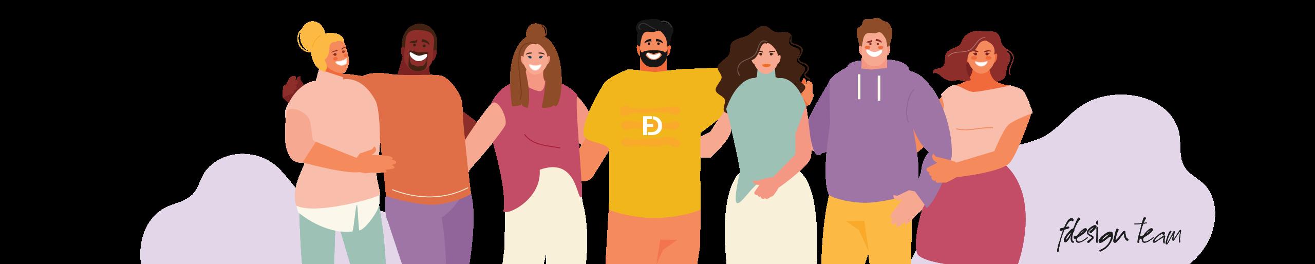 تیم طراحی وب اف دیزاین