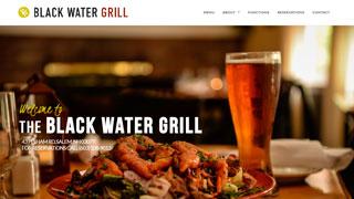 طراحی سایت رستوران بلک واتر گریل