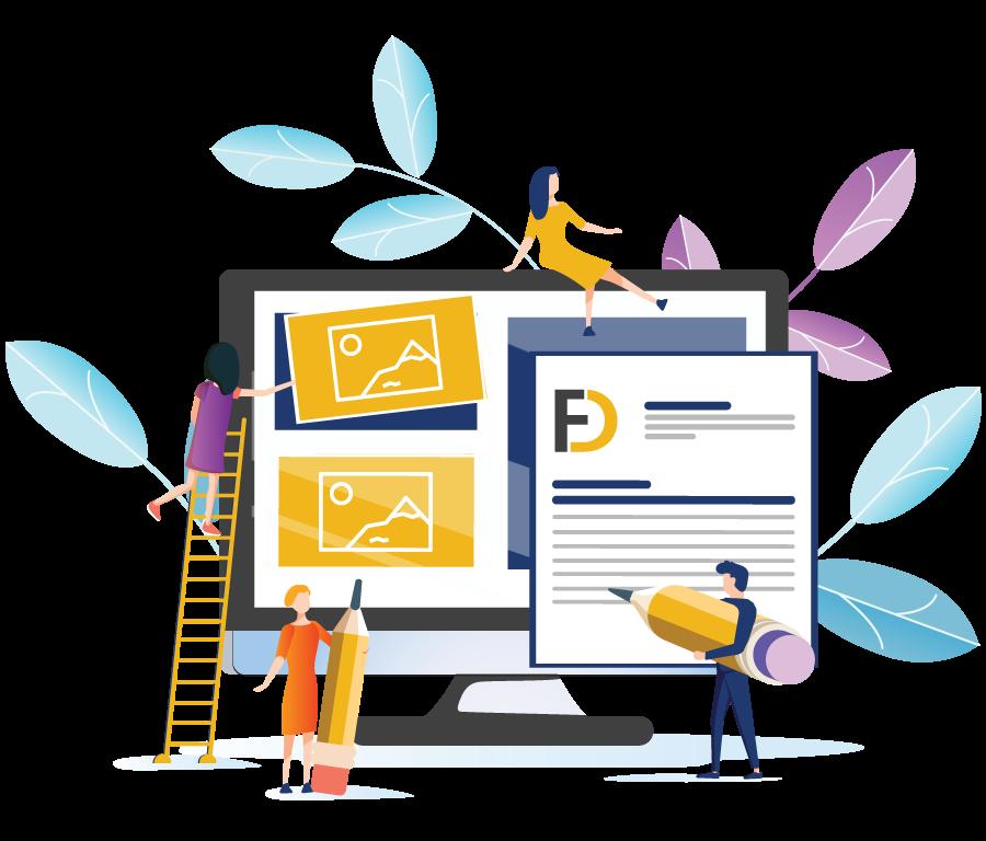 طراحی سایت شرکتی توسط تیم اف دیزاین